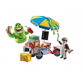 Playmobil Slimer con Stand de Hot Dogs