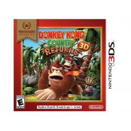 3DS Donkey Kong Country Returns 3D - Envío Gratuito