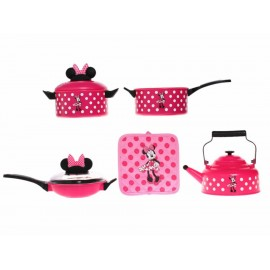 Disney Collection Set de Cocina Pink Minnie - Envío Gratuito