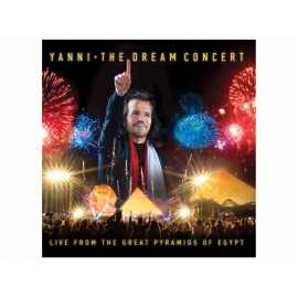 The Dream Concert Yanni CD + DVD - Envío Gratuito