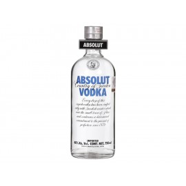 Caja de Vodka Absolut Regular 750 ml - Envío Gratuito